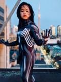 Traje imprimido de  She-venom de Venom 2018 de Anne Weying