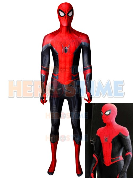 Spider-Man Costume Far From Home Kids and Adults Halloween Costume