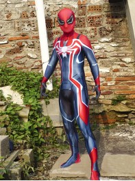 Newest Spiderman PS4 Velocity Suit Spiderman Cosplay Suit