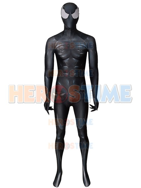 2018 Venom Movie Version Printed Supervillain Cosplay Costume