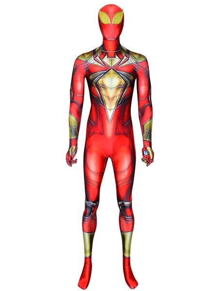 Iron Spider Comic PS4 Printed Spider-Man Costume