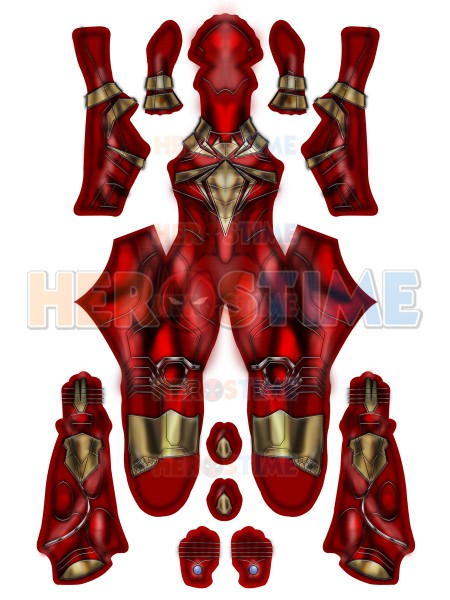 Iron Spider Comic PS4 Printed Spider-Man Costume