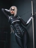 Black Cat Suit Spider-man: The Heist Black Cat Cosplay Costume Adult & Kid Suit