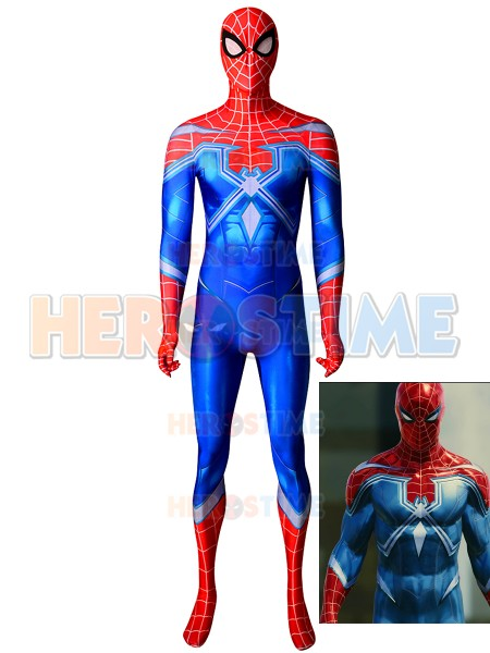 Spider-man Suit Spider-Man PS4 - The Heist DLC Resilient Cosplay Costume