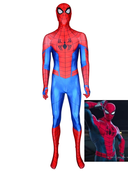 Marvel Ultimate Alliance 3: The Black Order Traje de Spider-Man Cosplay
