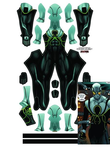 Disfraz de The Superior Octopus de Spider-Man Cosplay