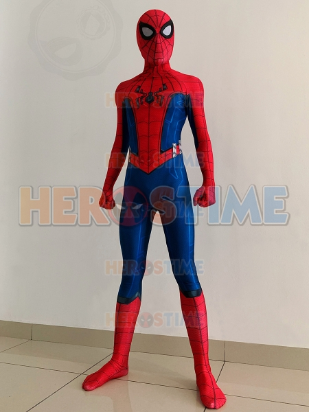 Avengers:Damage Control Spider-Man Suit California Adventure Spider-Man Costume