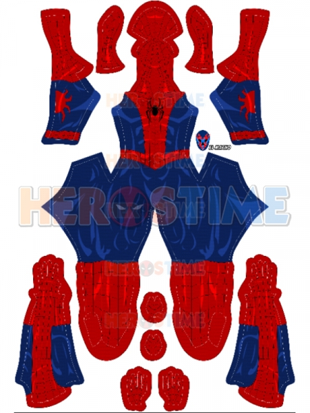 2020 Newest Spider-man Costume Comic Style Spiderman Suit