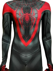 2020 Newest Spider-Man: Miles Morales PS5 Cosplay Costume