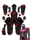 Marvel Strike Force Miles Morales Cosplay Costume