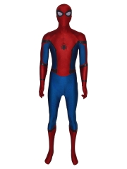 Disfraz de Spider-man de regreso a casa en tela de colores Leather Spider