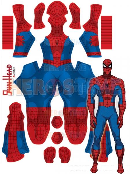 1994 Spider-man Cosplay Costume Spider-Man TAS Suit