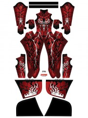 Carnage queen Mary Jane Venom Carnage Custom Cosplay Costume