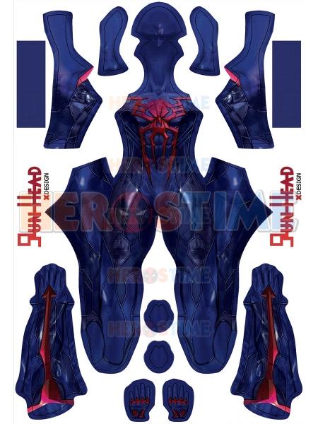 El más nuevo disfraz de Cosplay de traje negro PS4 Spider-Man 2099