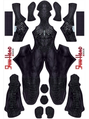 Disfraz Cosplay de Spider-man 3 Venom Black Spider-Man