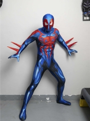 Newest Spider-man 2099 Suit Multiverse Non-existing Spider-man Cosplay Costume