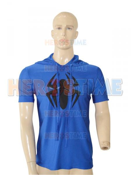 Camiseta Azul Real con Capucha de Scarlet Spider de Spiderman