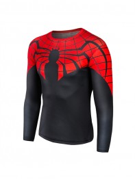 Superior Spider-Man Superhero 3D pattern Quick Dry T-shirt