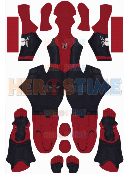 Spider-Man: No Way Home Costume without Muscle Newest Spider-Man Suit