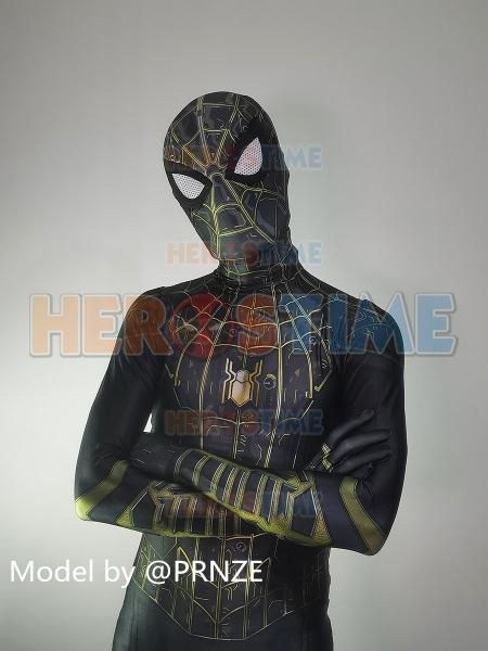 Spider-Man No Way Home Black Suit Newest Spider-Man Suit