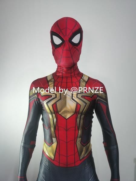 Spider-Man No Way Home Iron Spider Intergrated Costume
