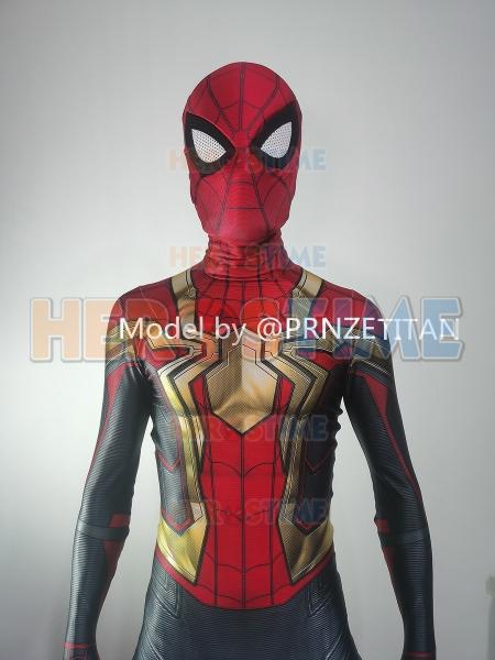 Disfraz integrado de Spider-Man No Way Home Iron Spider