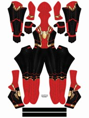 Spider-Man Costume No Way Home Intergrated Gold Costume