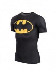 Black Batman Superhero Dry Tee Sportswear