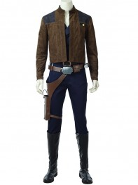 Han Solo Costume Solo: A Star Wars Story Deluxe Cosplay Full Set