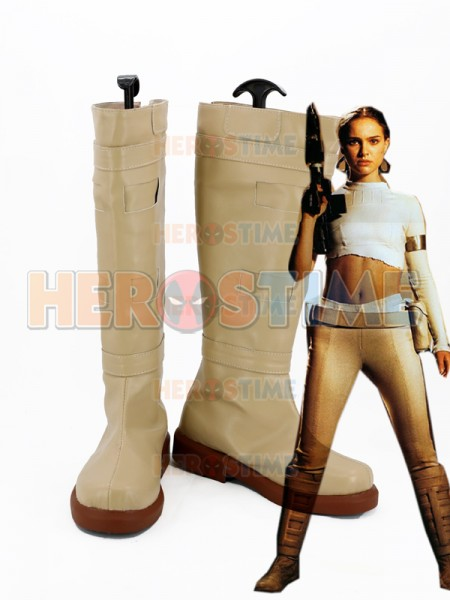 Star Wars: Attack of the Clones Padme Naberrie Amidala Cosplay Boots