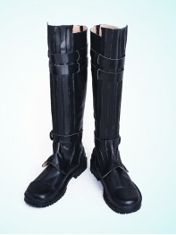 Star Wars: The Force Awakens Anakin Skywalker Black Cosplay Boots