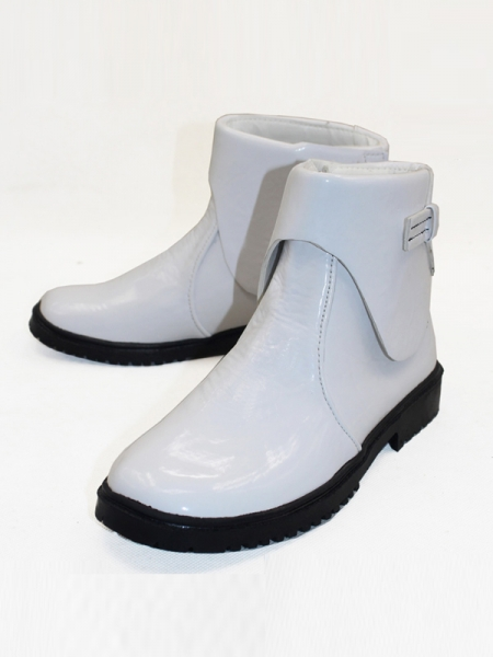 Star Wars: The Force Awakens White Solider Short Cosplay Boots