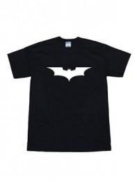 2008 The Dark Knight Batman Logo Black T-shirt