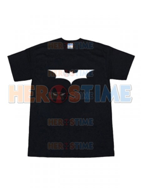 2008 The Dark Knight Batman Logo Black T-shirt
