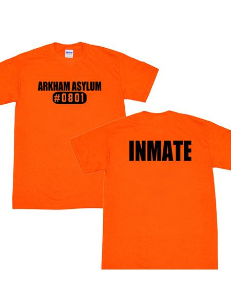 Camiseta de Arkham Asylum Inmate