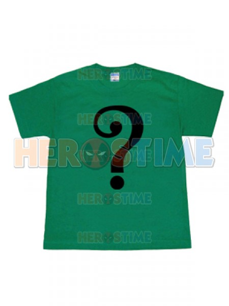 Camiseta de Riddler de Batman Arkham City