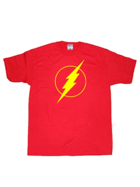 Red The Flash Superhero T-shirt