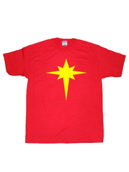 Captain-Marvel Mar-Vell Symbol T-shirt