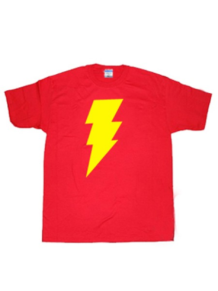 Captain-Marvel Shazam Symbol T-shirt