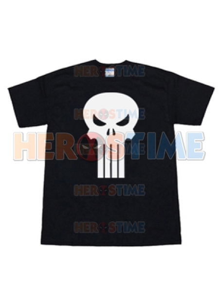 Punisher Short Sleeve Skull Symbol T-shirt