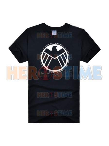 S.H.I.E.L.D Symbol Superhero T-shirt