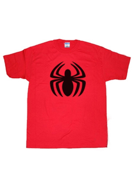 Spirder-man Spidey Logo Red T-shirt