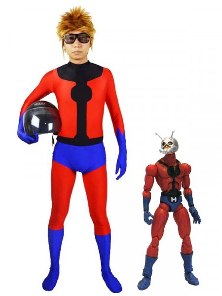 Spandex Superhero Ant-Man Superhero Costume