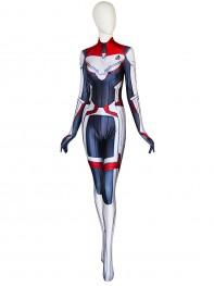 Avengers: Endgame Suit Quantum Realm Female Printing Spandex Costume