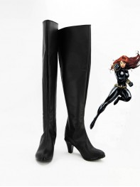 Avengers Black Widow Superhero Cosplay Boots