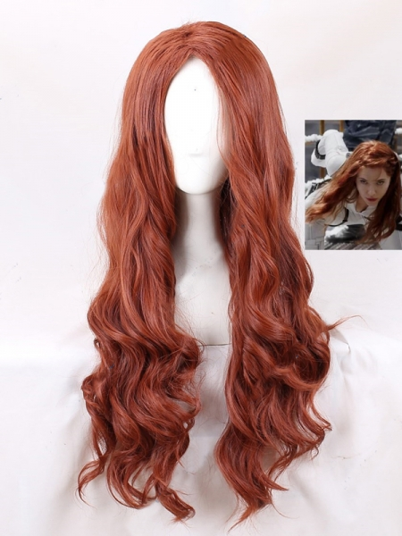 2021Movie Black Widow Superhero Cosolay Wig