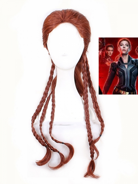 2021 Black Widow Movie Black Widow Cosolay Wig