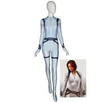 Black Widow Costume White Suit 2020 Movie Superhero Costume