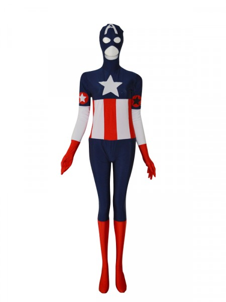 2014 Captain America Custom Superhero Costume