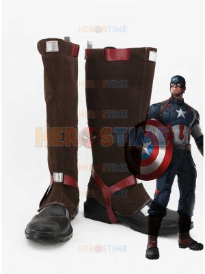 Captain America: Civil War Captain America Cosplay Boots